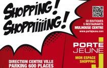 Centre commercial Porte Jeune à Mulhouse